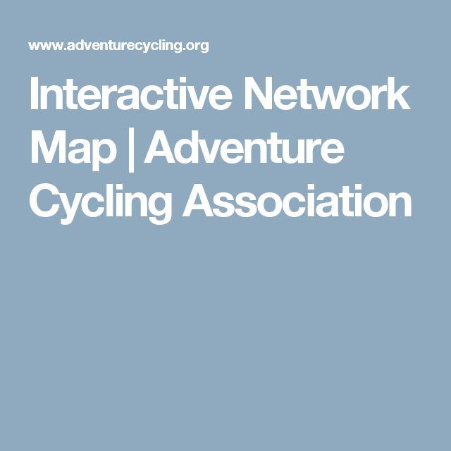 Interactive Network Map | Adventure Cycling Association