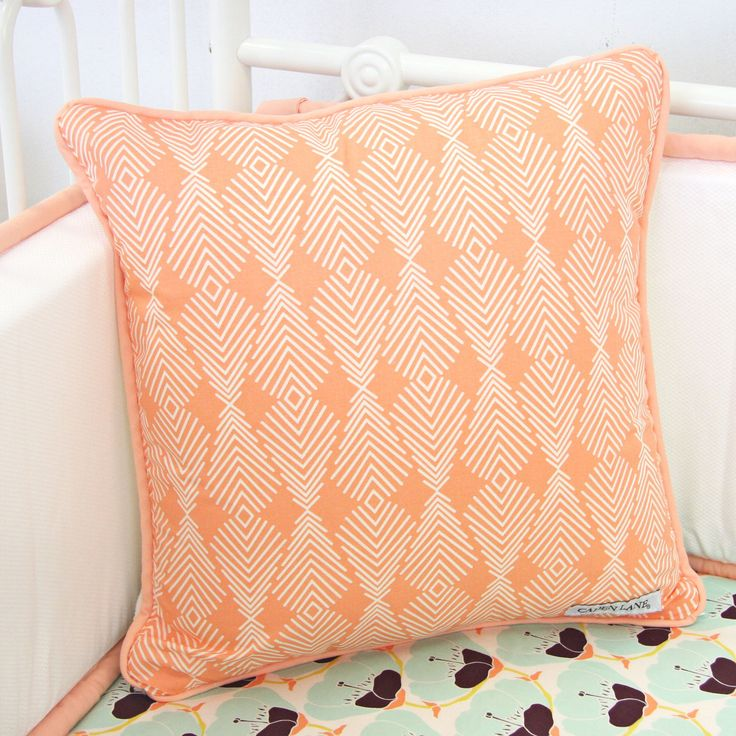 We Love This Peachy Print It Makes A Great Accent For The Rocker In