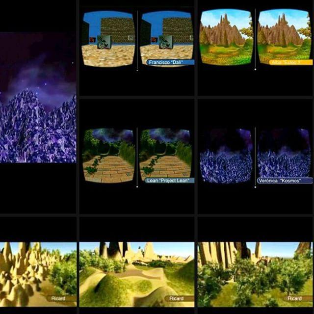 "An awesome Virtual Reality pic! Trabajos realizados por los alumnos. Curso ""Creación #VR inmersiva con #Unity3D"" con @all_vr_edu :) #workshop #virtualreality #RealidadVirtual #learning #maker #igerscatalunya #igerscat #igersbarcelona #igersbcn #MADbcn #MADbarcelona #googlecardboard #oculusrift #3D #DIY #learningbydoing #artwork #apk by all_vr_edu check us out: http://bit.ly/1KyLetq"