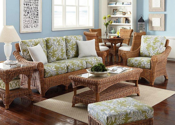 12 Photos Gallery of: Unique Indoor Wicker Furniture Sets