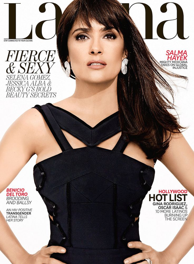 """Salma Hayek on Being Latina: """"I Don't Try to Minimize My Latina-ness, I Expose It With Joy and Pride"""""""