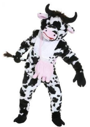 Купить ростовые костюмы коровы с открытым лицом
