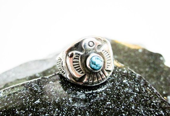 78 best rings antique vintage new images on pinterest for Thunderbird jewelry albuquerque new mexico