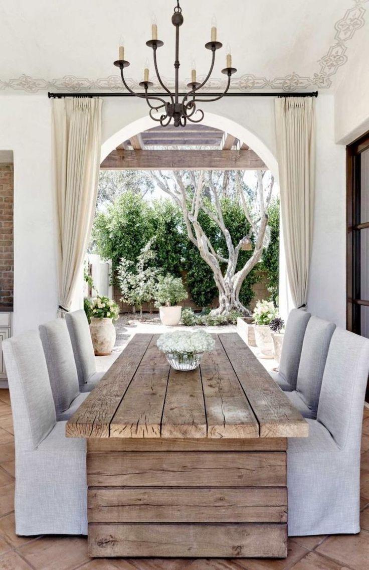 80+ Farmhouse Dining Table Decor Inspirations