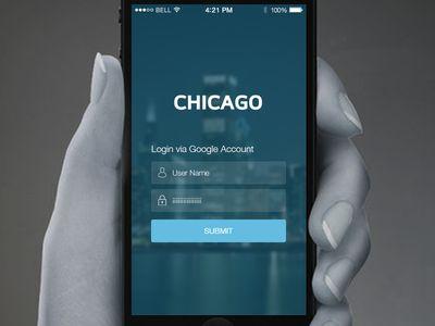 Chicago city's City Wi-Fi Login Page