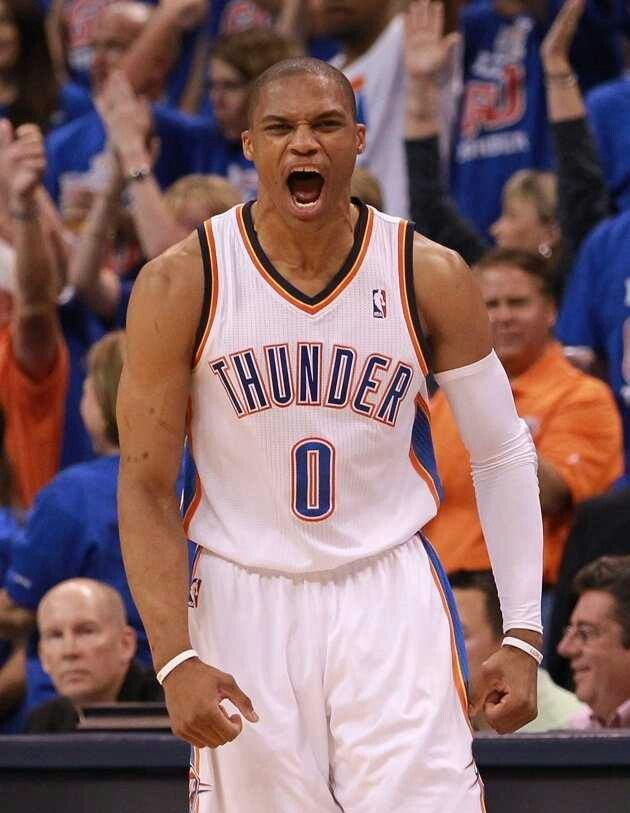 Russell Westbrook 0 OKC Thunder Thunderup