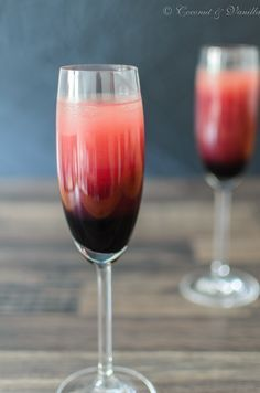 Was für ein schaurig-schöner Drink für die nächste Halloween-Party!