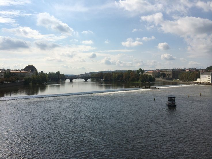 The Moldau from Bridge