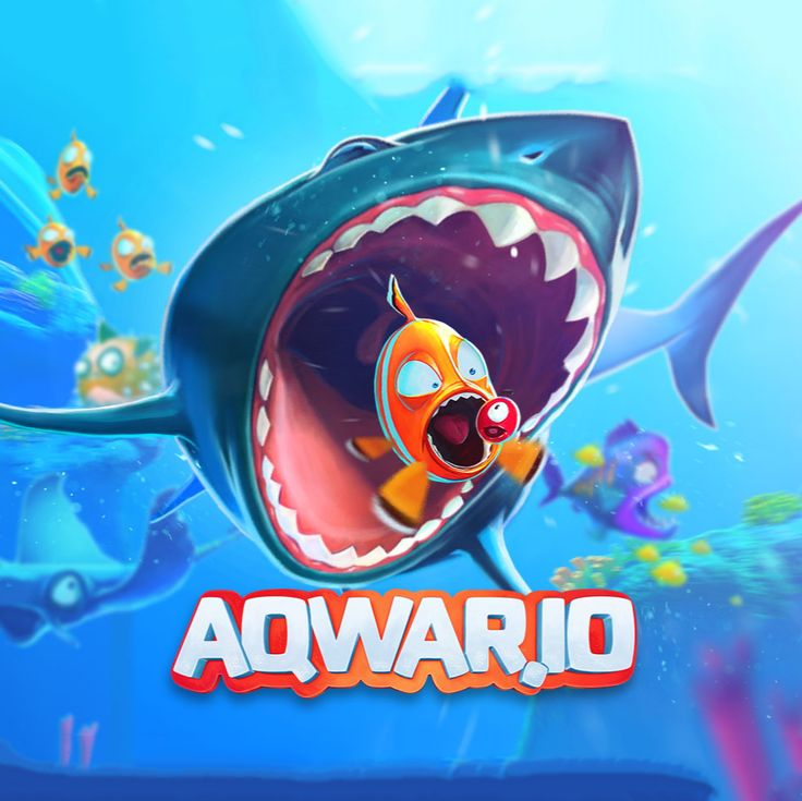 😍 Aqwar IO! 🦈 The world you are living in is full of dangers and risks 🦈 #Friv #Strategy #Survie #Friv2017