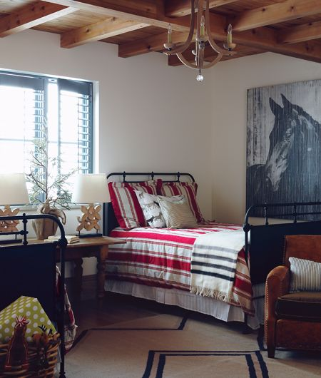 Charming Farmhouse Guest Bedroom