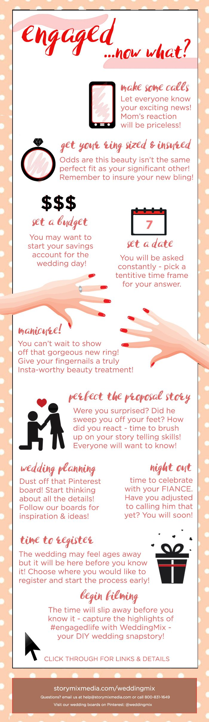 Don't miss these tips & tricks to navigate your newly engaged period! Full details on our blog!