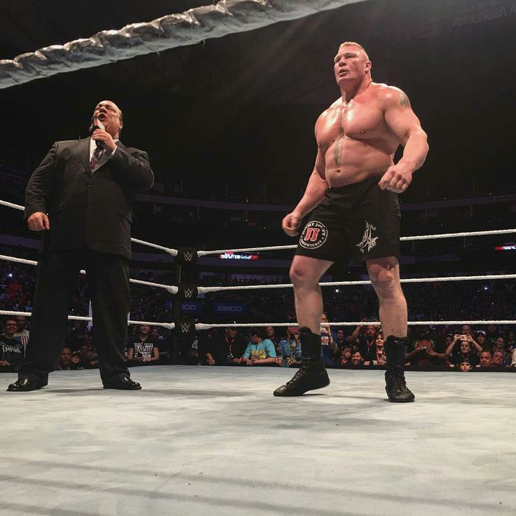 Brock Lesnar & Paul Heyman