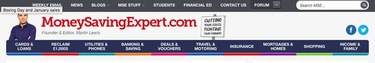 MoneySavingExpert.com UK  Supermarket coupons UK