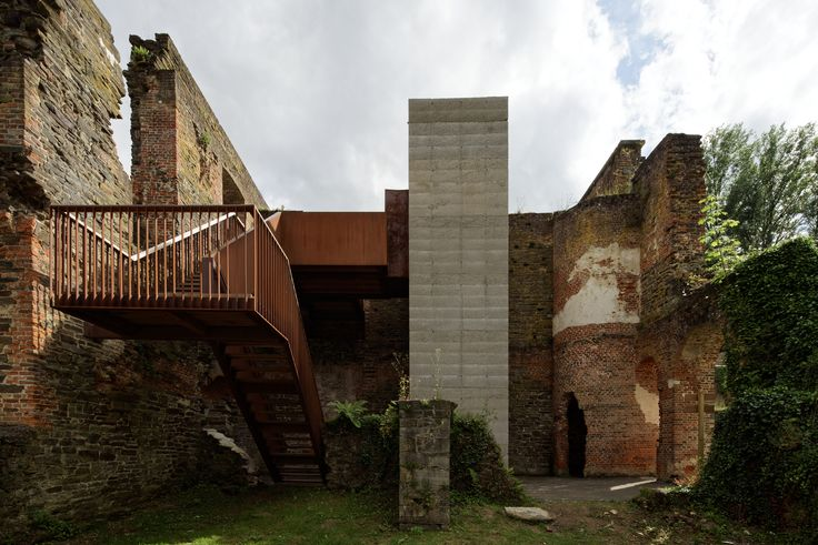 Gallery of Villers Abbey Visitor Center / Binario Architectes - 1