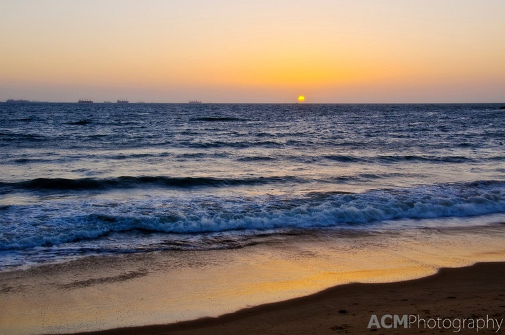 Sunset at Candolim Beach, Goa