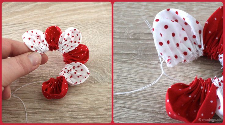 KINDERleicht und schön | Nähen mit Cherrygrön: Blütenzauber: Stoffblumen