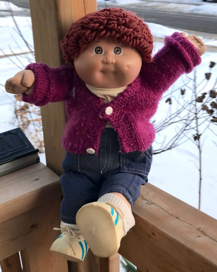 Vintage Cabbage Patch Kids Doll #1985 #ColecoToys #AuburnHair #GingerBaby #80sToy #VintageDoll #CPK #cabbagepatchkids