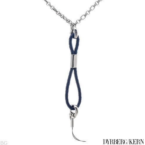DYRBERG/KERN Leather Unisex Necklace. Length 25 in. Total Item weight 54.0 g. DYRBERG/KERN. $25.00. Save 77% Off!