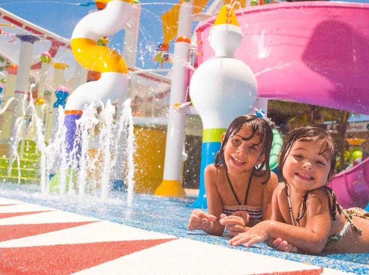 Parque Aquático completo e recheado de brinquedos para a criançada e para os pais também! #Brasil #Travel #Kids #Family