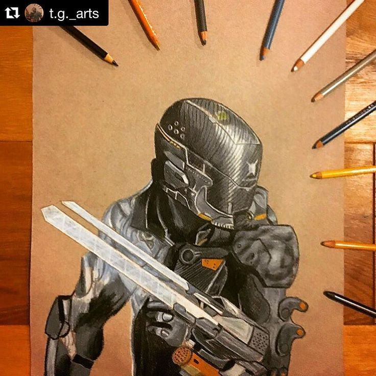 #Repost @t.g._arts  Spectre from Black ops 3 Requested by @tobymenzies @tom.chxrch @steve_thompson101 and @samrxwse #art #artwork #drawing #artist #prismacolor  #art_spotlight #cr8hype  #bo3 #treyarch #callofduty #blackops3 @treyarch by treyarch