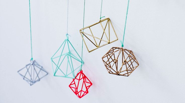 Buy Copper Geo Wire Christmas Decoration from Oliver Bonas