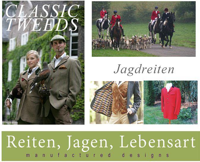 Feine Reitbekleidung, Jagdbekleidung und Jagdzubehör für Jagdreiter kaufen - Rittmeisterei Shop