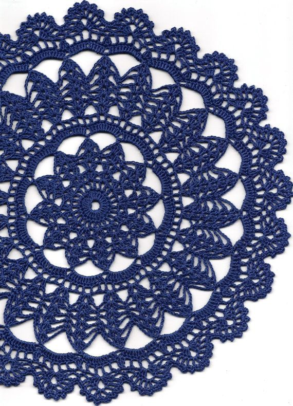 Crochet doily lace doily table decoration crocheted by DoilyWorld, £5.00