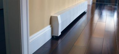 Baseboard Cover Straight Kit for hydronic baseboard heaters - may need these