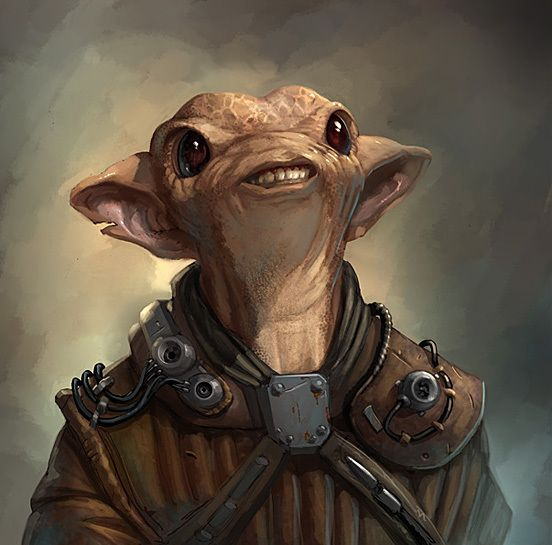 Star wars alien characters