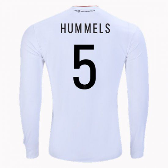 2017 Germany Soccer Team LS Home #5 HUMMELS Replica Football Shirt 2017 Germany Soccer Team LS Home #5 HUMMELS Replica Football Shirt