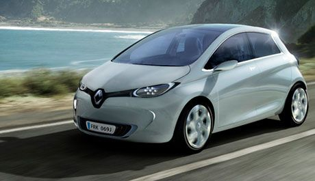 2014 EVs   2014 Renault Zoe pure-electric car could have 220 mile range