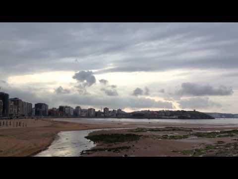 Playa de San Lorenzo. Gijón