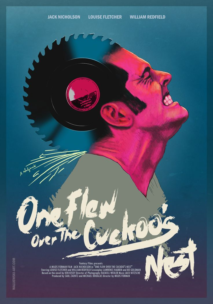 One Flew Over the Cuckoos Nest (1976) [1280 x 1829]