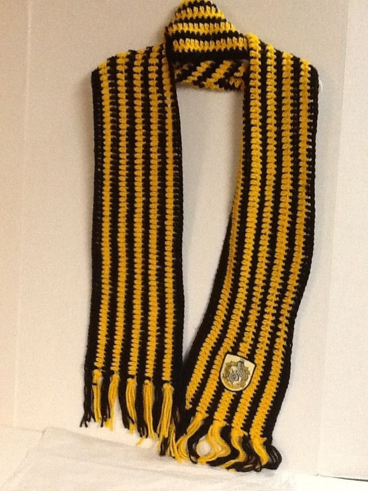Hufflepuff Scarf Knitting Pattern : 17 Best images about Yellow on Pinterest Pedestal ...