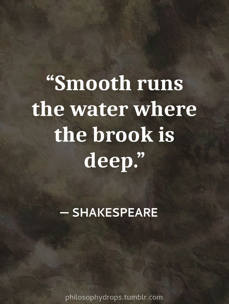 philosophy quotes Shakespeare smoothly depth character ...