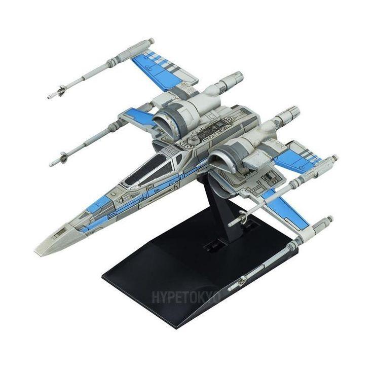 Star Wars Bandai Vehicle Model Series Plastic Model : Blue Squadron Resistance X-Wing Fighter  #starwars #bluesquadronreistancexwingfighter #plasticmodel #bandai #hypetokyo