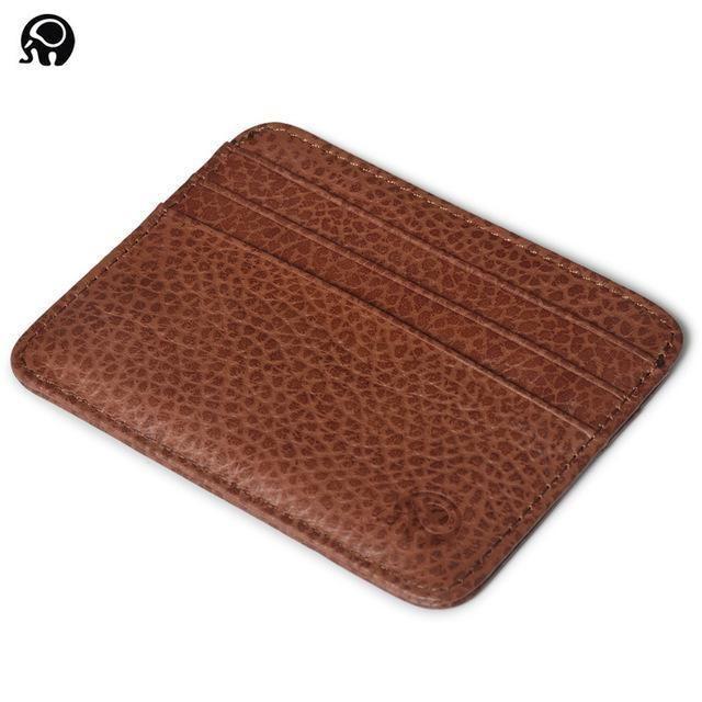 Men Wallet Business Card Holder Bank Cardholder Leather Cow Pickup Package Bus Card Holde Leather Card Holder Wallet Credit Card Holder Wallet Mens Card Wallet