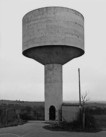Water Tower, Flockton, West Yorkshire [1997 Bernd & Hilla Becher].