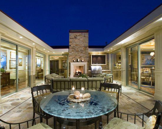 47 best u shaped houses images on pinterest