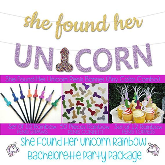 Our Original She Found Her Unicorn Bachelorette Party Pack Is Sure