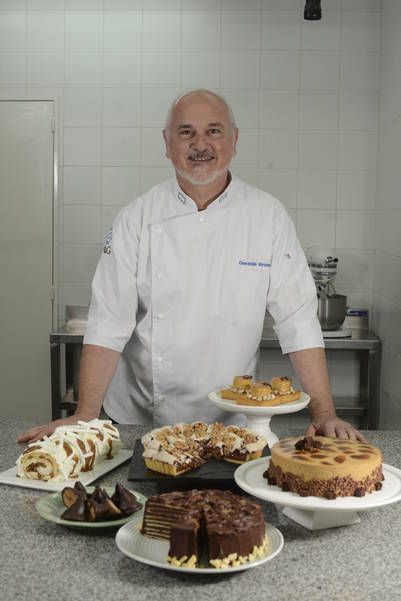 Osvaldo Gross ..un genio de la pastelería ..