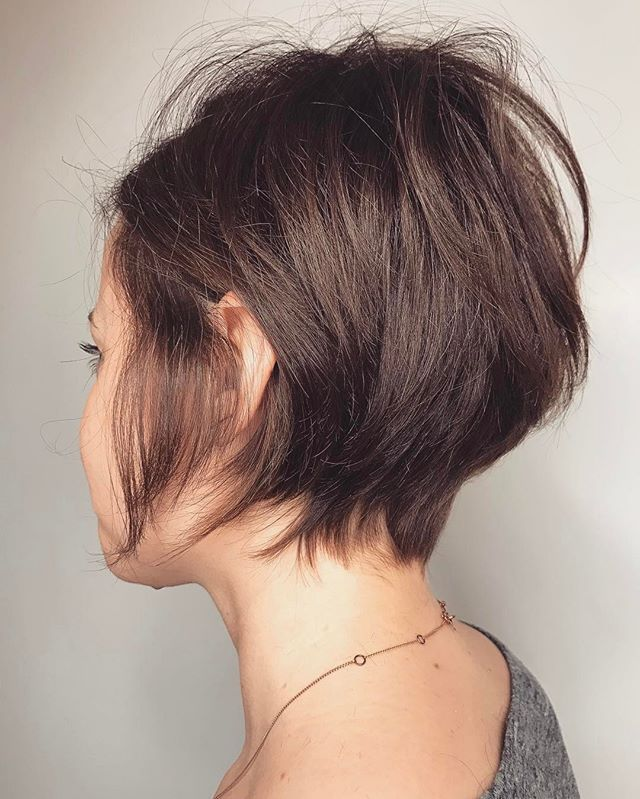 Razored.  . . . #hair #haircut #hairstyle #razorcut #pixie #girlswithshorthair #shorthair #shaggypixie #longpixie #allaboutdahair #washingtondc #immortalbeloveddc #hairinspo #hairporn #hairgoals #shorthairideas #pixieideas #shatteredhair #hairart #modernsalon #dcsalon #americansalon #hairbrained #behindthechair #maneaddicts