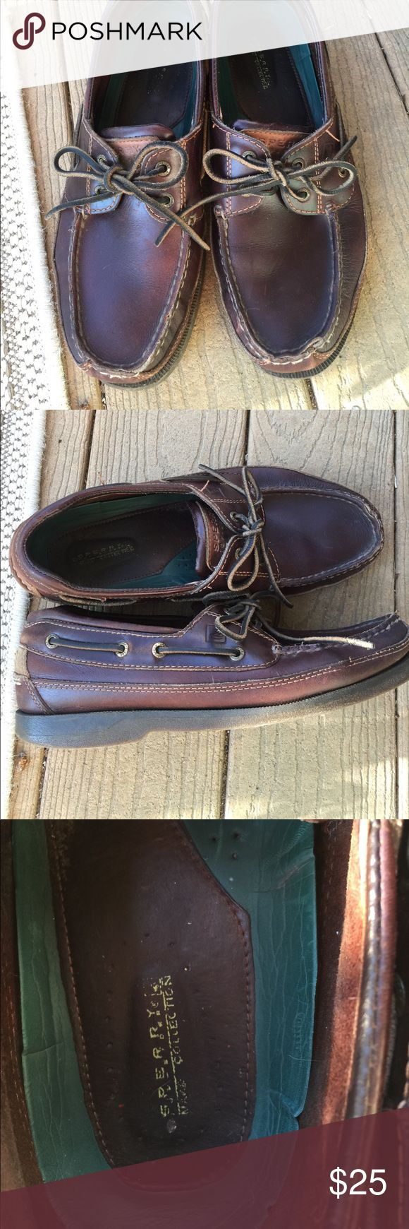 Sperry Top Siders Size 10 1/2 $25 Men's Sperry Top Siders Size 10 1/2 EUC $25 Sperry Top-Sider Shoes Boat Shoes