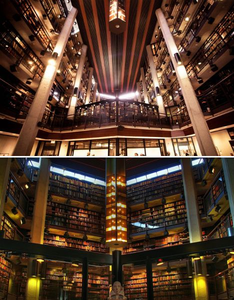 Thomas Fischer. Rare booklibrary at University of Toronto. Is the largest publicly accessible collection of rare books and manuscripts.  It contains Darwin's proof copy of On the Origin of the Species