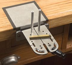 Solid Stainless Steel Bench Pin for Piercing--http://www.knewconcepts.com/benchPin.php