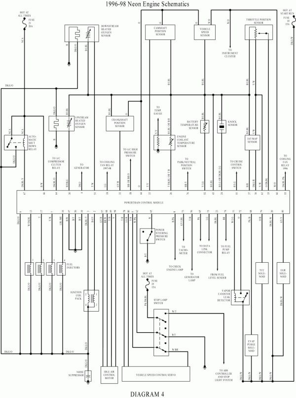 17  1998 Dodge Neon Engine Wiring Diagram