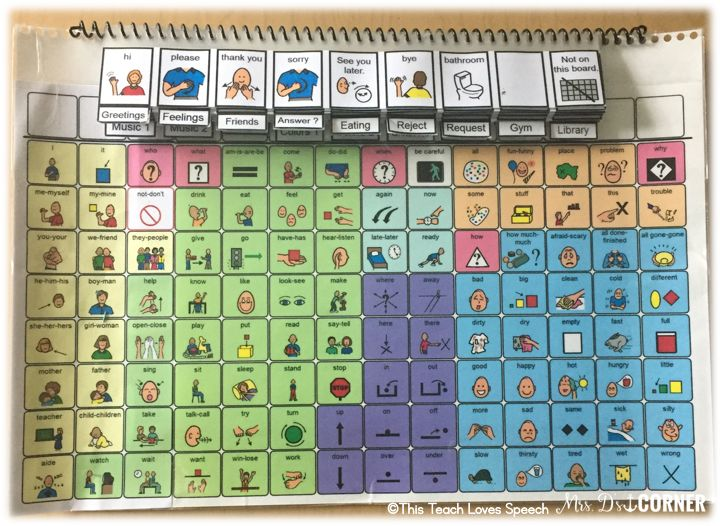 Core Vocabulary within the SPED Classroom