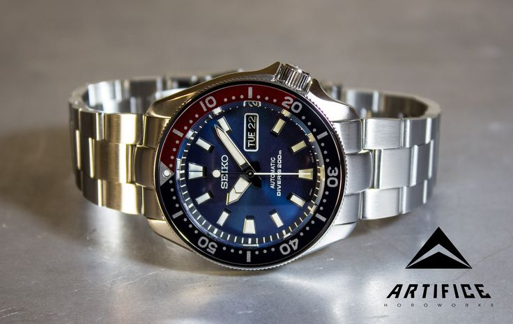 One of the most requested watches built to date, it does command a premium due toitshighly customized nature. Some options such as the bracelet and engraving do add a fair amount to the final cost. Certain parts are difficult to source, so please email for availability& pricing options. Seiko SKX009 NH36 hacking handwinding automatic movement … Continue reading AHWSG9-E – Ultimate SKX009 as seen on Average Bros youtube review →