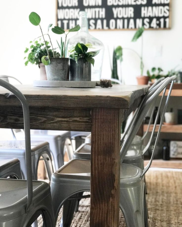 Ana White Farmhouse Table DIY