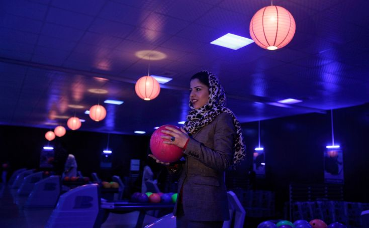 26 y/o who built the first bowling place in Afghanistan